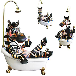 Zebra Bathtub