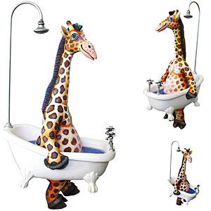 Walking Giraffe Bathtub