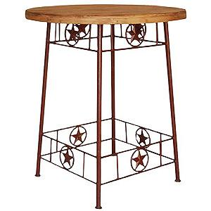 Iron Star Bistro Table