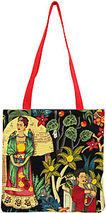 Frida Kahlo Dark Tote Bag