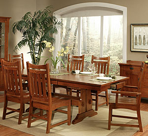 Heartland OakTrestle Dining Table