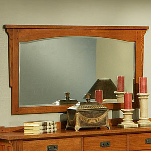 Heartland OakBeveled Mirror