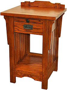 Heartland OakOne-Drawer Nightstand