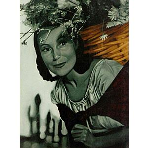 Dolores Del RioOil Painting on Canvas