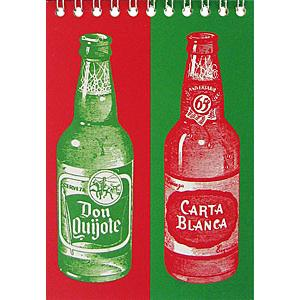 Cervezas Spiral Notebook