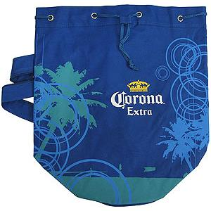 Corona Canvas Beach Bag