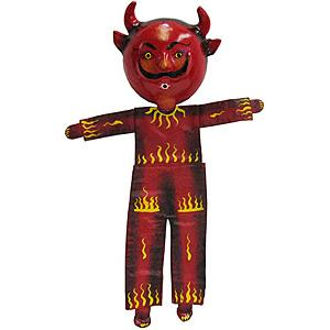 Devil Mask w/Flaming Body