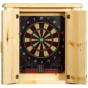Log Dartboard Cabinet