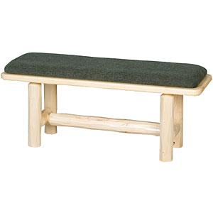 Upholstered Log Bench