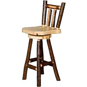 Hickory Bar Stool