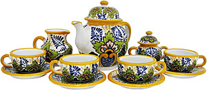 Talavera Coffee Set #38