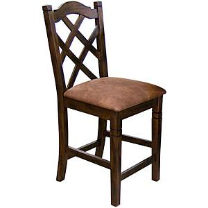 Santa FeCrossback Bar Stool