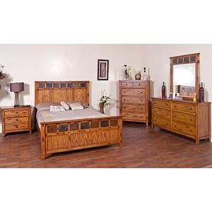 Rustic Oak SedonaBedroom Suite