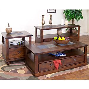 Santa FeInlaid Storage Tables