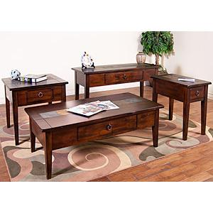 Santa Fe Slate Top Tables