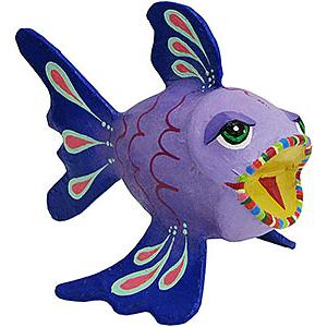 Purple Puffer Fish