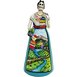 Catrina w/Shawlin River Scene Dress