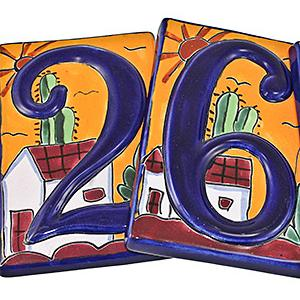 House Numbers:Southwest Talavera