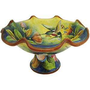 Small Hummingbird Fruit Bowl