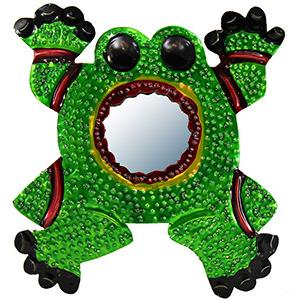 Frog with Mirror