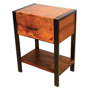 Flat Iron Nightstand