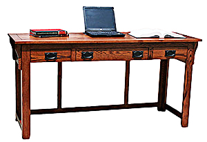 American Mission Oak62 Laptop Desk