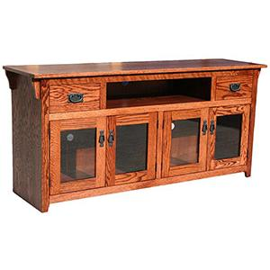 American Mission Oak65 TV Console