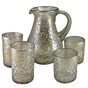 Rolled Frit Glassware
