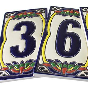 House Numbers:Talavera Relief