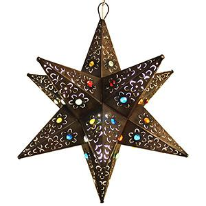 Cancun Star w/Marbles: Oxidized Finish
