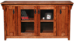 American Mission Oak60 TV Console