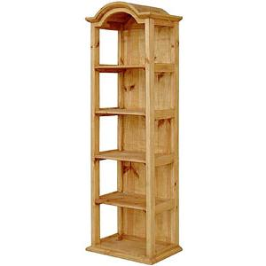 Narrow Bonnet Bookcase