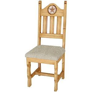 Texas Chair w/InlaidMarble & Cushion