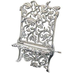 Pewter GrapevineCookbook Stand
