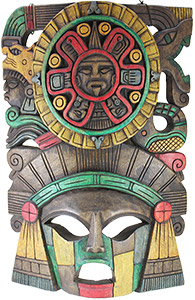 Wooden Mask:Sun Headdress