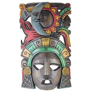 Wooden Mask:Eclipse Headdress