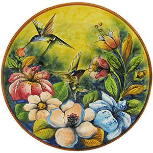 Large Hummingbird Platter