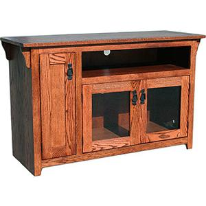 n Mission Oak48 TV Console