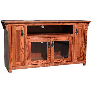 American Mission Oak56 TV Console