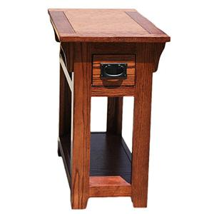 American Mission Oak Chair Side Table