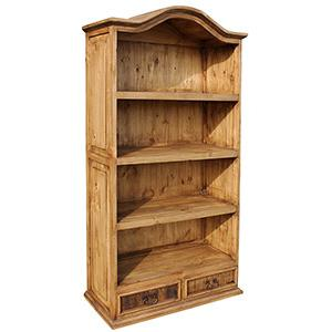 Bonnet Top Bookcase