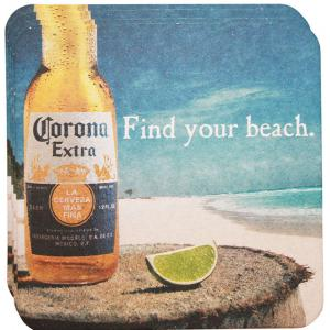 Corona Find Your Beach Coasters