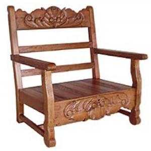 Carved Rope Chair