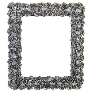 Rectangular Rose Mirror