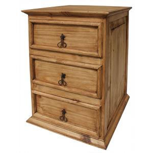 Three-Drawer NightstandWithout Wormwood