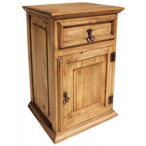 Tall Liso Nightstand(Door opens Right)