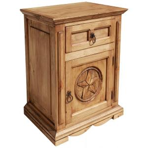 Mansion Star Nightstand(Door opens Right)