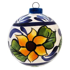 Hand PaintedCeramic Ornament