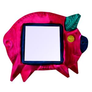 Pig with Mirror