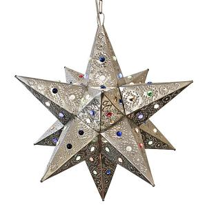 Colorado Star w/Marbles:Natural Finish